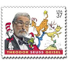 Dr. Seuss stamp